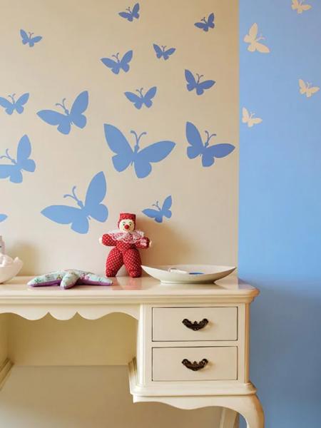 Dětský pokoj - malba na zeď